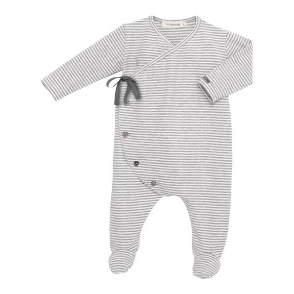 c974fac2d273 Kids 1+ In the Family Adan Jumpsuit - White and Grey