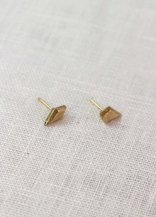 Adeline Jewelry Kite Studs - 14K Gold