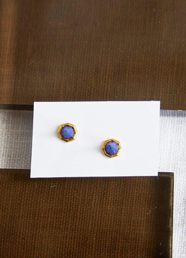 Katie Diamond Astrid Studs - Lapis Lazuli