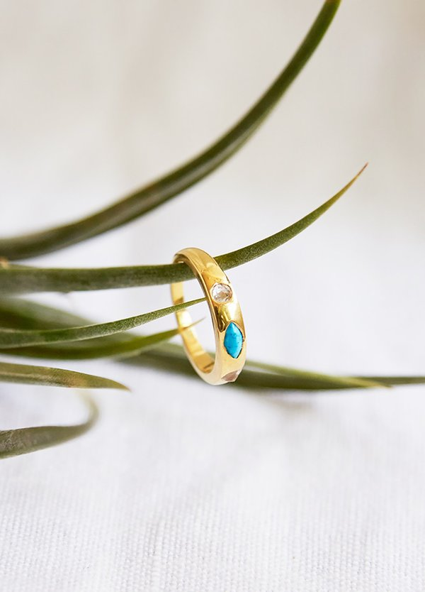 Katie Diamond Brie Ring