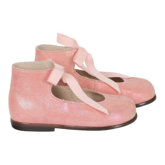 Bonpoint Baby Shoes Rose Bonbon