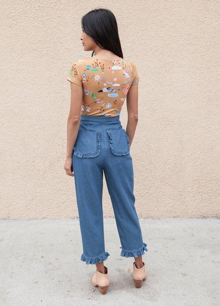 Samantha Pleet Duet Jeans