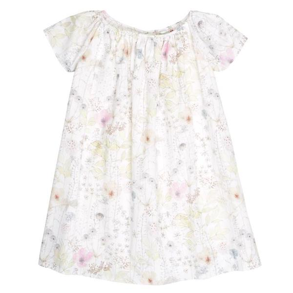 bc788bb56 Bonpoint Gianna Dress Fl Blanc - Gianna Dress White Liberty Print ...