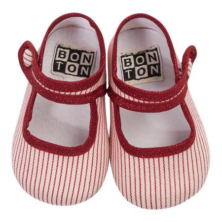 Kids Bonton Cotton Slippers - Ray Rouge