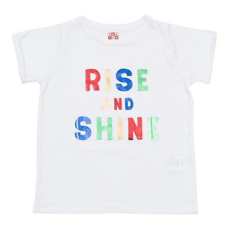 KIDS Bonton Rise and Shine Tshirt  - Milky White