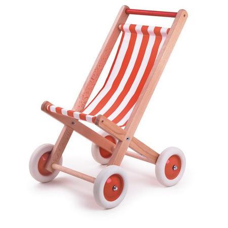 KIDS Egmont Toys Egmont Buggy Chair - Red/White Tissue