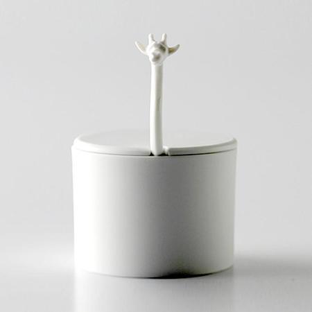 Eza Porcelain Giraffe Head Sugar Pot