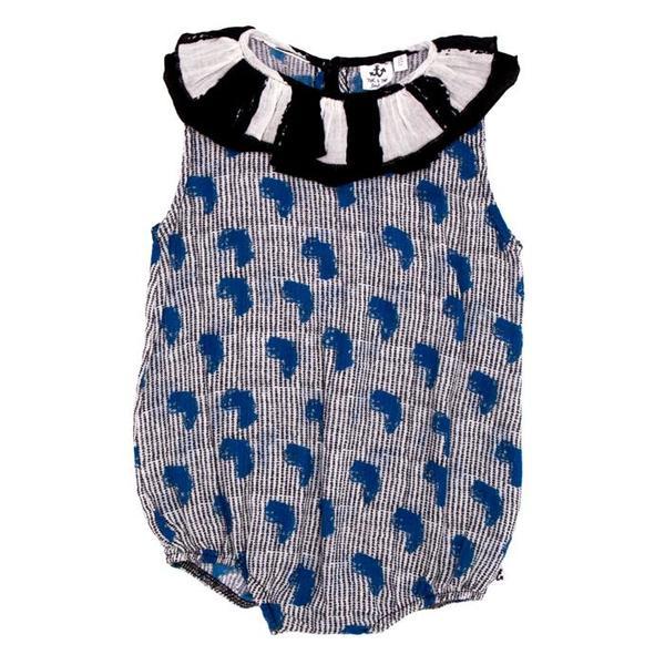 63121fcdee Kids Noe   Zoe Baby Ruffle Romper - Africa