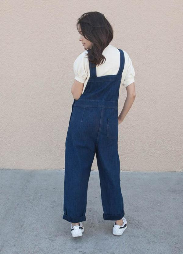 You Must Create Lily Jumpsuit - Indigo