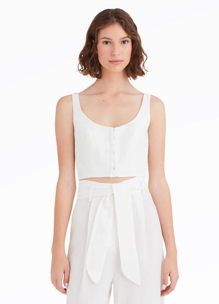 Mara Hoffman Aisha Top - White