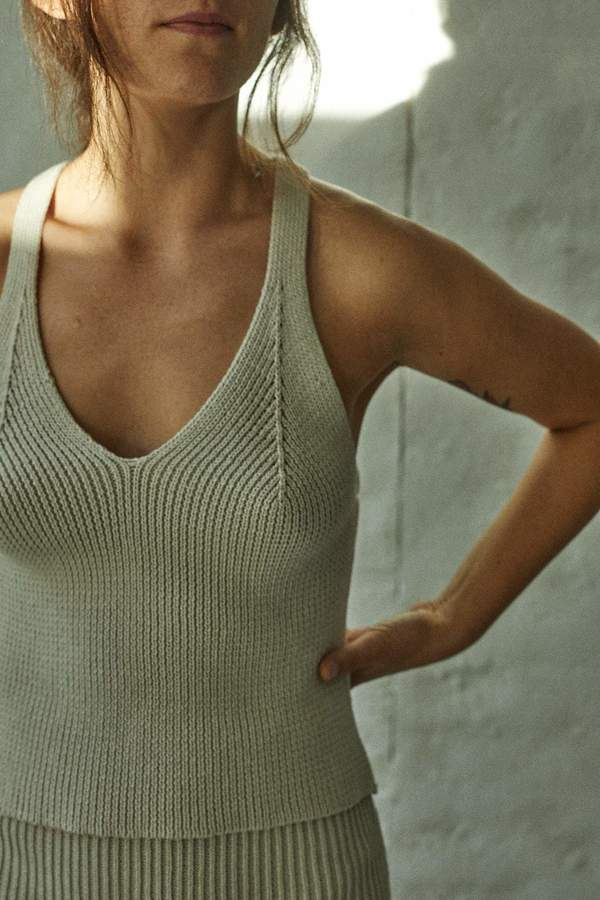 Wol Hide Sunsuit Tank - Salt on Garmentory