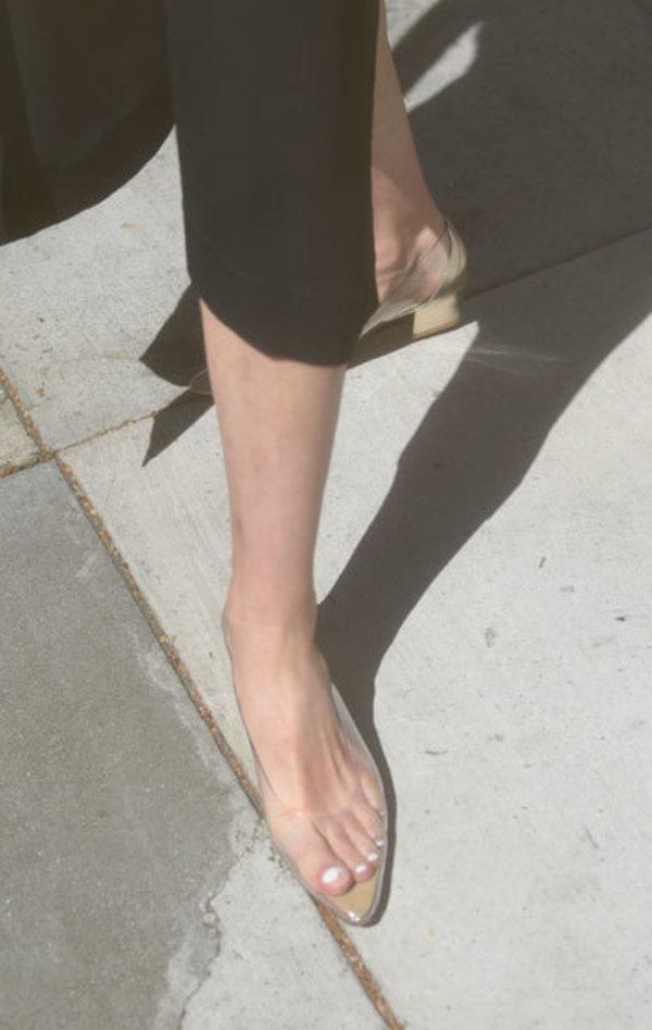 c8738b7dbed0 Maryam Nassir Zadeh Forma Pump Heels - Clear