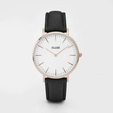 CLUSE LA BOHEME CL18008 WATCH - ROSE GOLD/WHITE/BLACK
