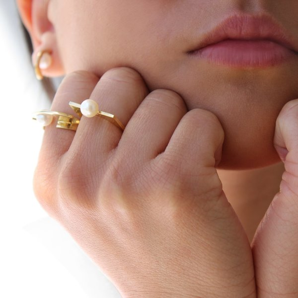 Metalepsis Projects Renata Ring - Gold