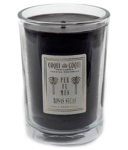 Coqui Coqui Beeswax Candle - ROSAS SECAS