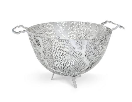 ANNA New York Espera Fruit Bowl - STAINLESS STEEL
