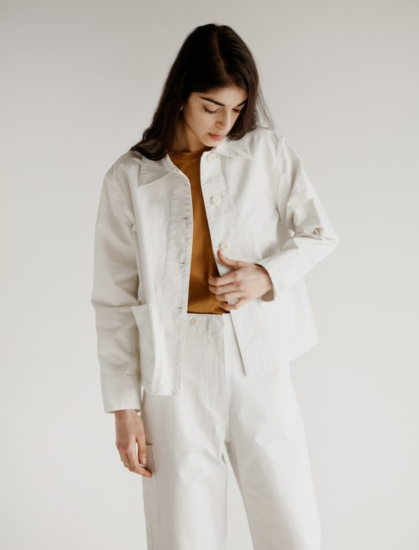 c824a946700 Margaret Howell MHL PJ Pocket Jacket - Off-White