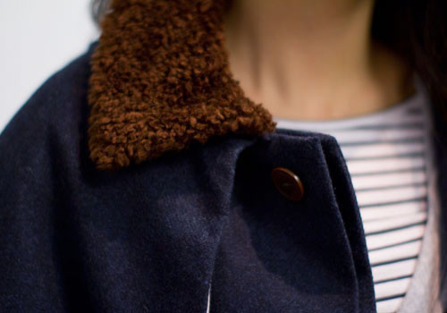 LA PAZ Pires Wool Cape