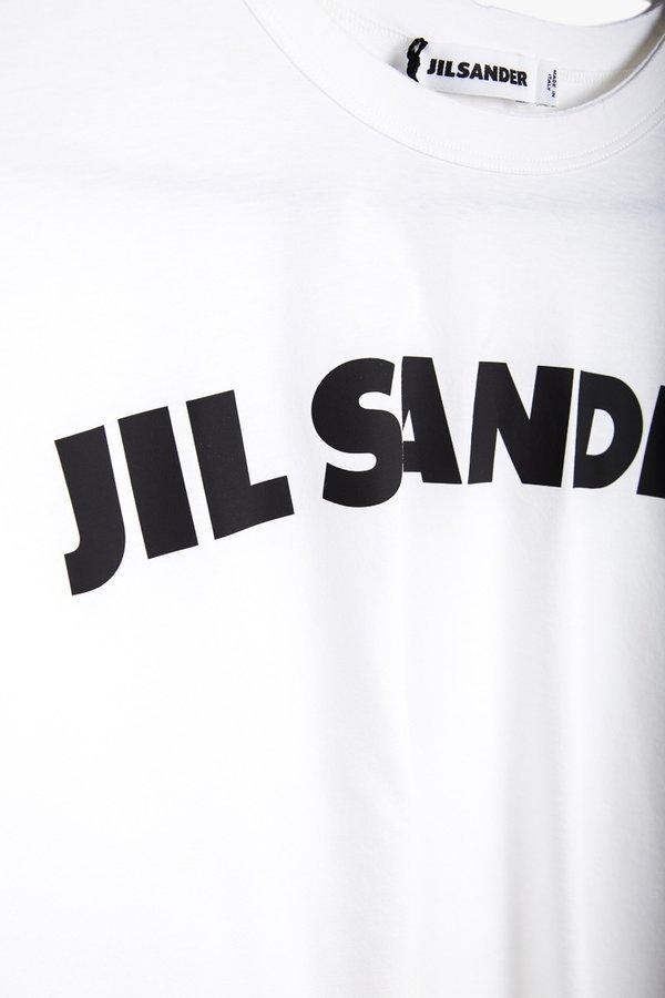Jil Sander Logo T-Shirt - White