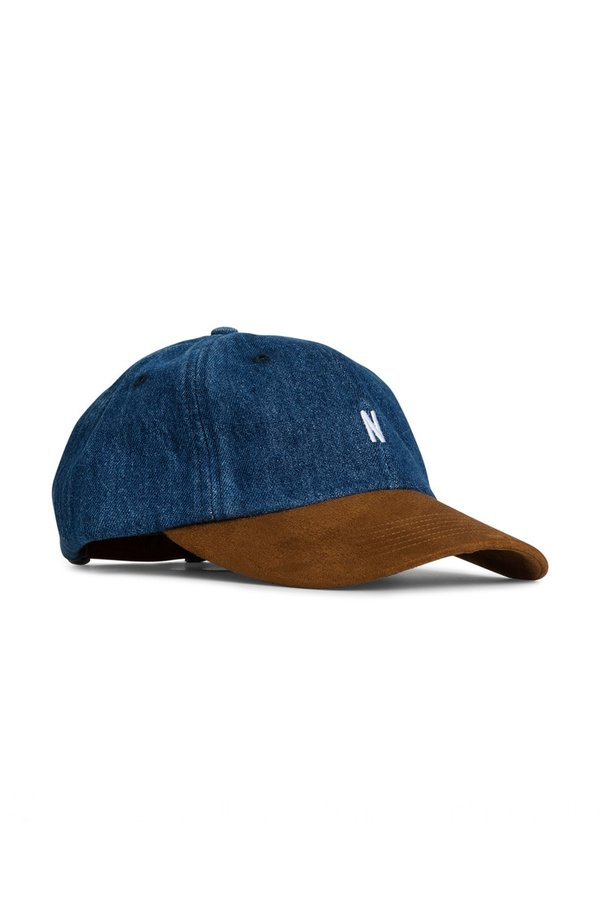Norse Projects Denim Sports Cap - Indigo  18f188554484