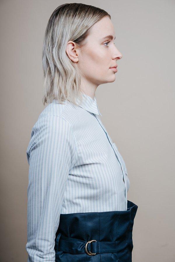 A.P.C Chemise Femme Shirt - Bleu Clair