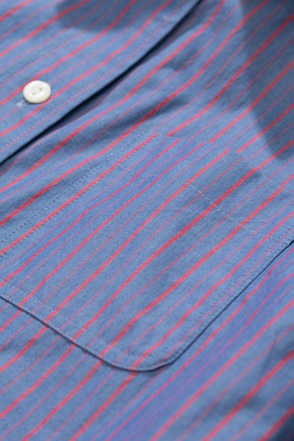 A.P.C. Chemise Lenka Shirt - Blue Roi