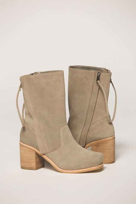 """Intentionally __________."" Poncho Slouch Boot - Grey"
