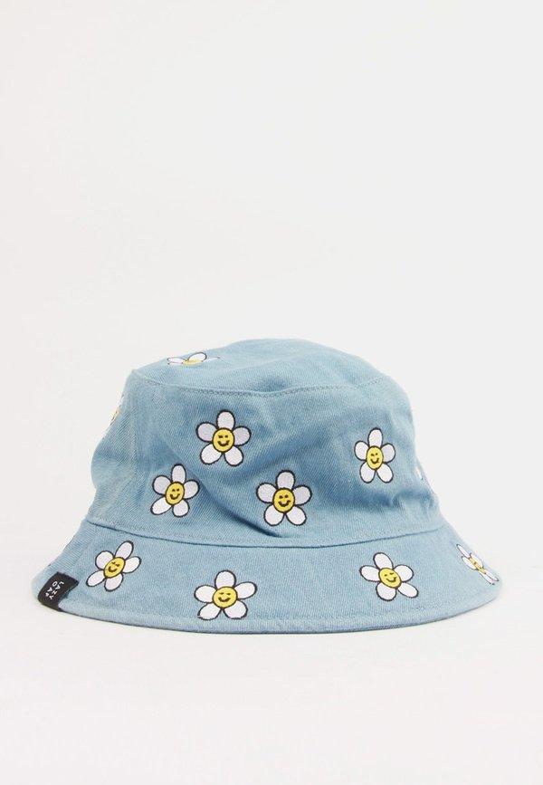 624c14b4e83 Lazy Oaf Daisy Bucket Hat - denim