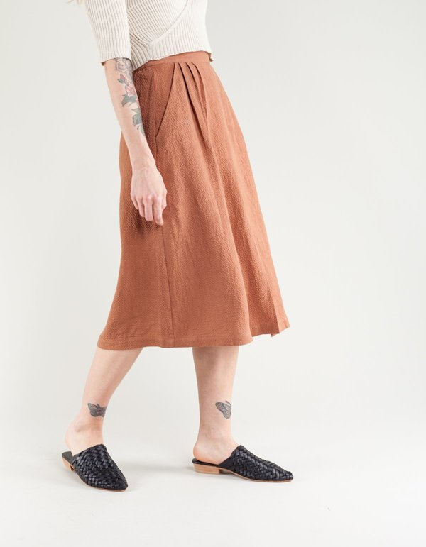 b1d352380a FIrst Rite Pleated Skirt - Clay | Garmentory