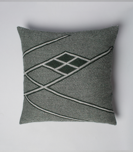 VOZ Apparel Che Euro Pillow - Forest Green