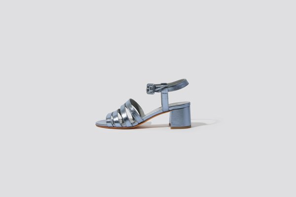 Maryam Nassir Zadeh Metallic Palma Sandal