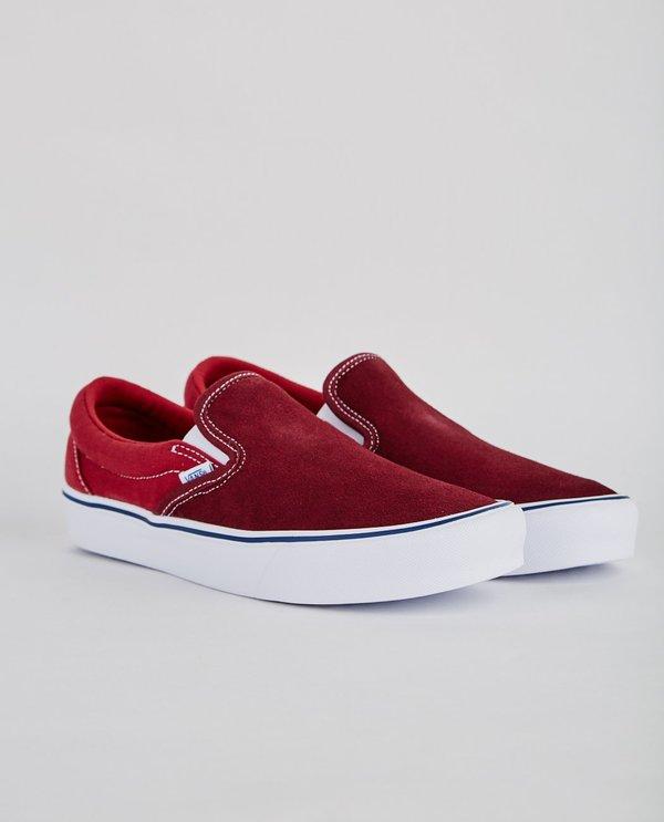 1a3a4faa02 VANS SLIP-ON LITE THROWBACK SLIP ON - PORT ROYALE/TIBETAN RED on Garmentory