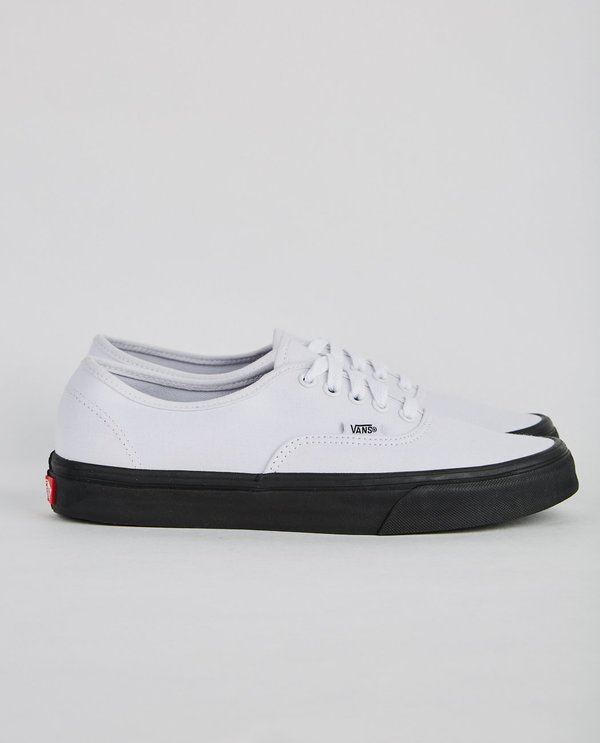 01743c7afb VANS AUTHENTIC BLACK OUTSOLE - WHITE/BLACK on Garmentory
