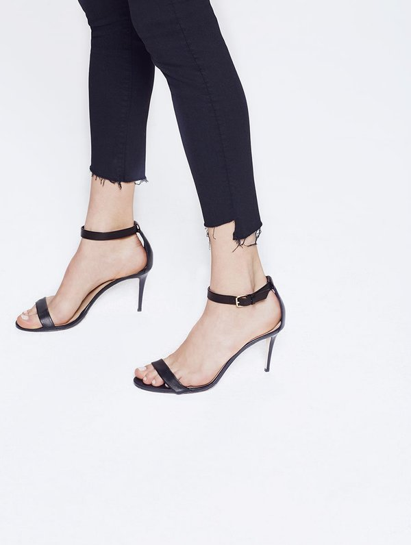 Mother Denim Stunner Ankle Step Fray - Not Guilty