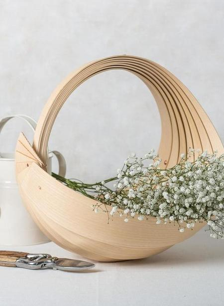 Jane Crisp Small Trug - ASH