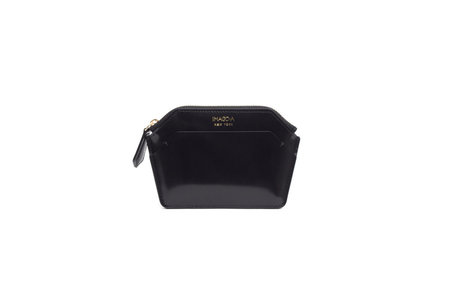 IMAGO-A Nº39 Forma Wallet - Noir Spazzolato