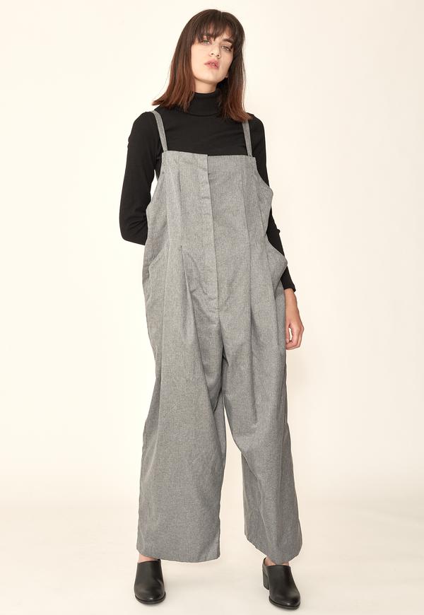 Lera pivovarova lee overalls - grey