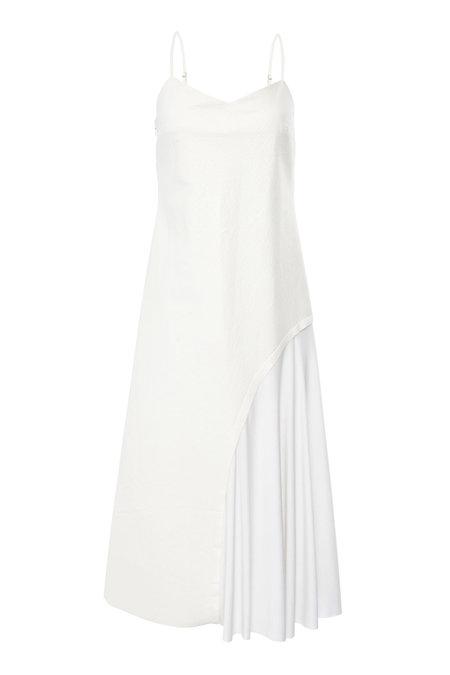 Dama Ellena Dress - White