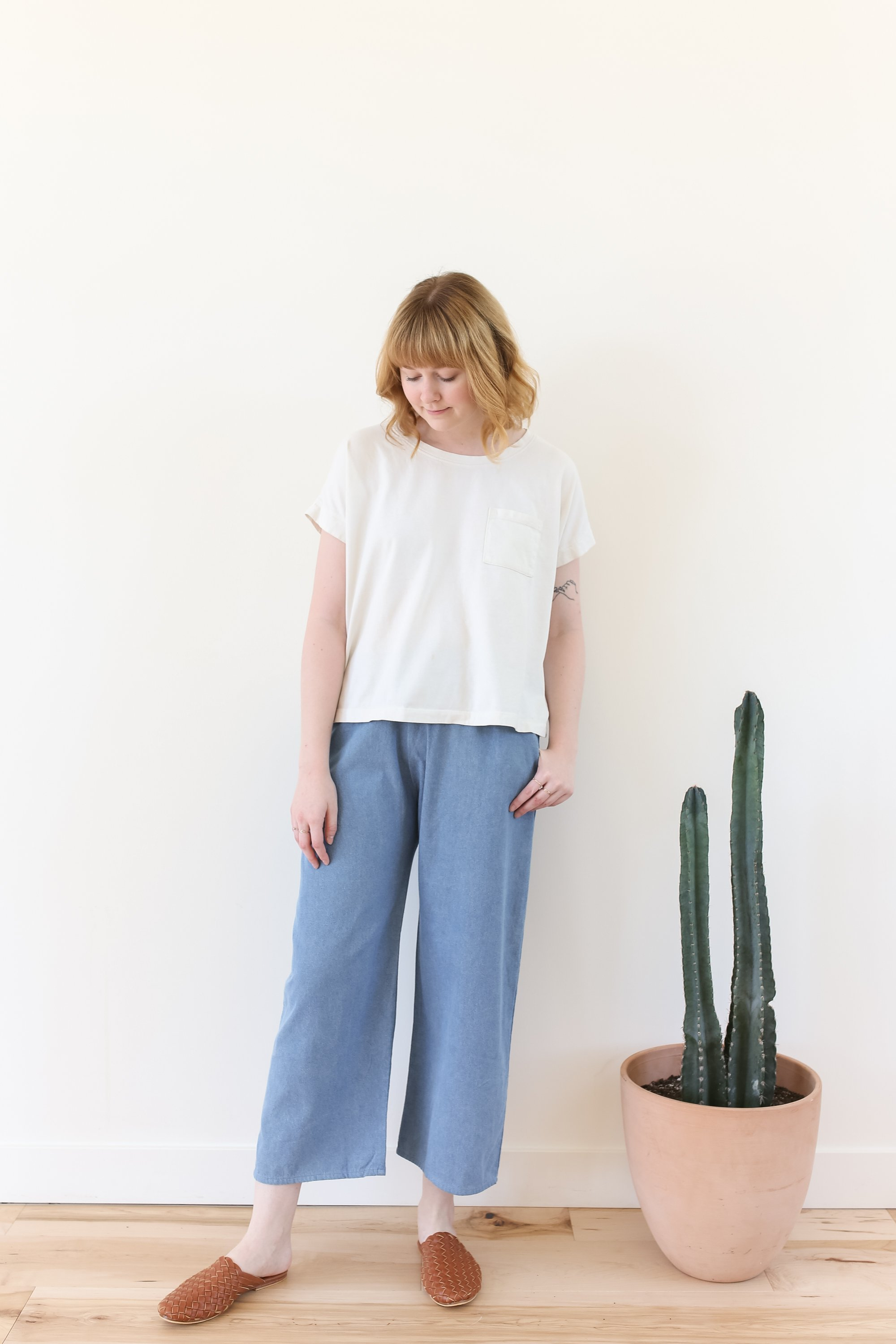 1c35942312 Mollusk Pfeiffer Pants - Light Denim | Garmentory