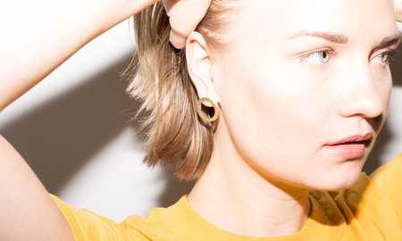 FLRNZ Circles Hoop Earrings