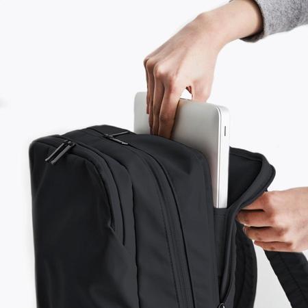 Poketo Simple Backpack - Black