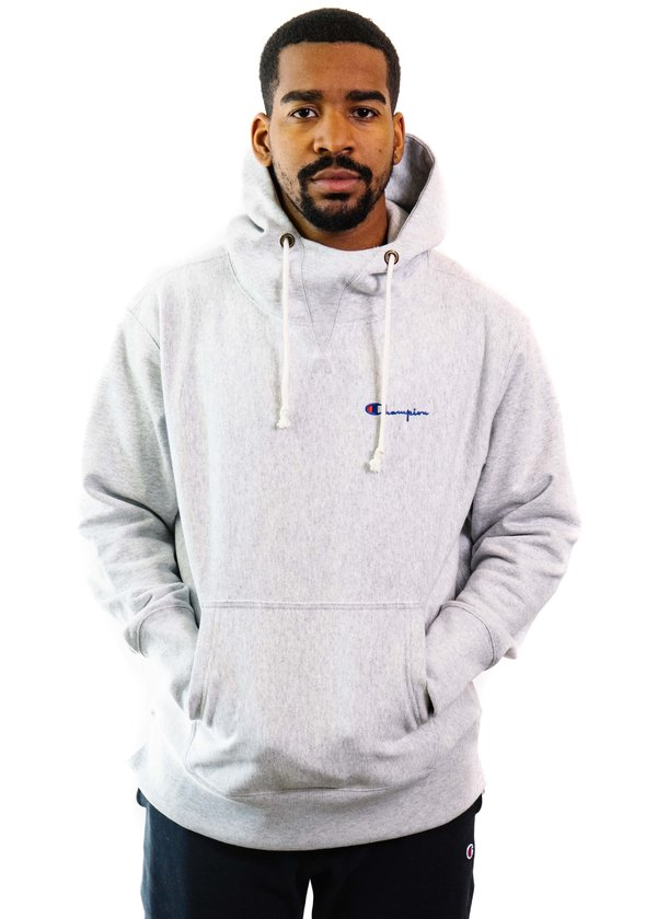 e3b51e111865 Champion Reverse Weave Deconstructed Hoodie - Oxford Gray