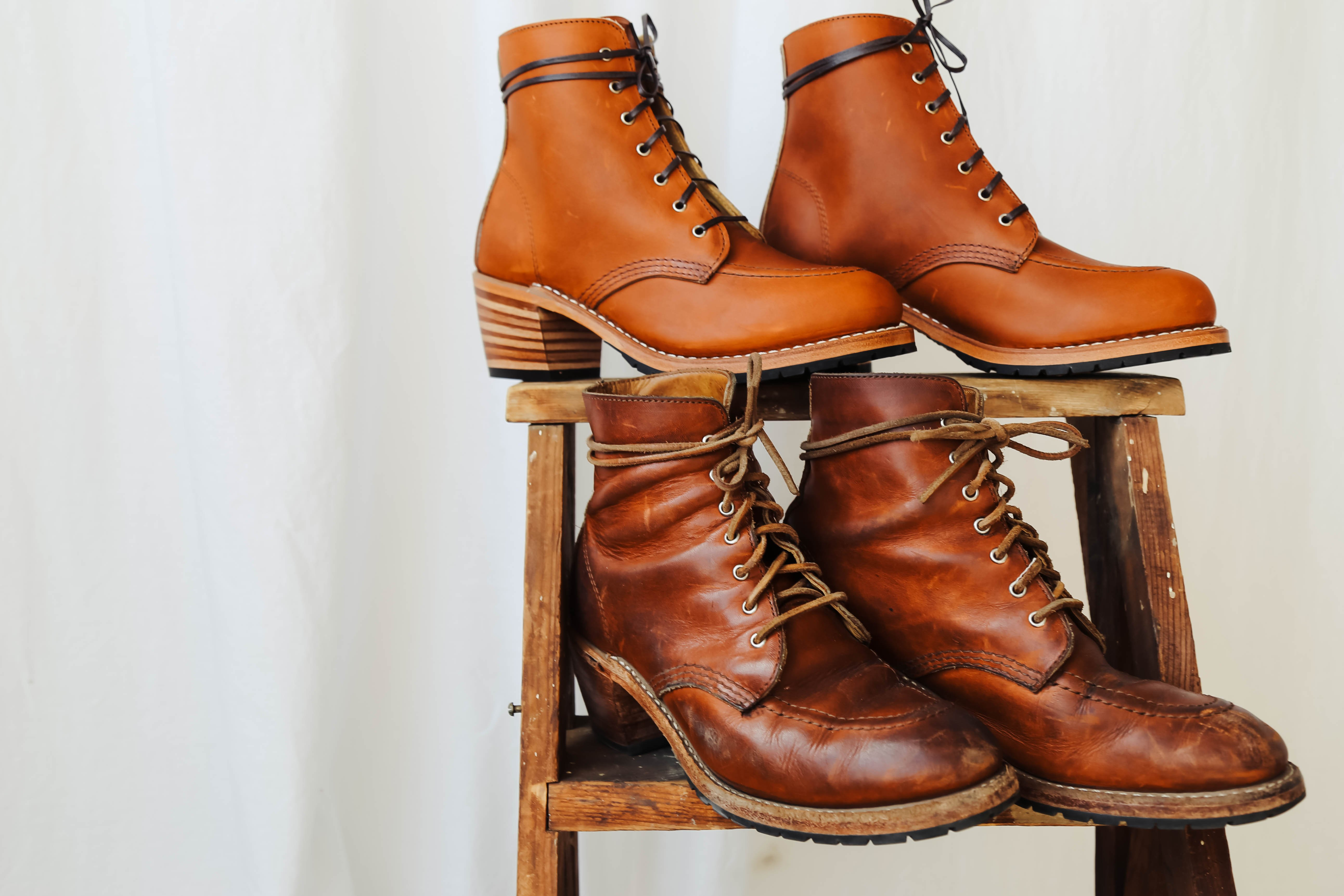 Red Wing Heritage Clara Boots - Oro