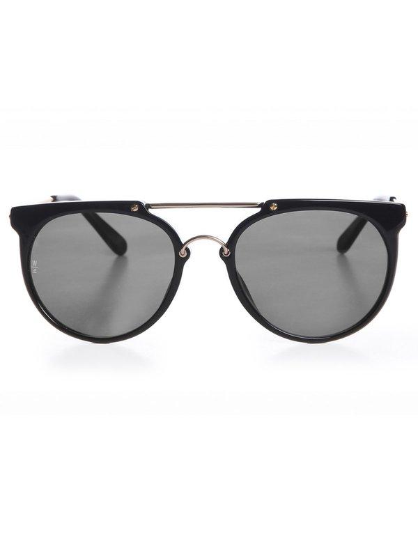 0d382f0443388 Wonderland Stateline Sunglasses - Gloss Black Grey