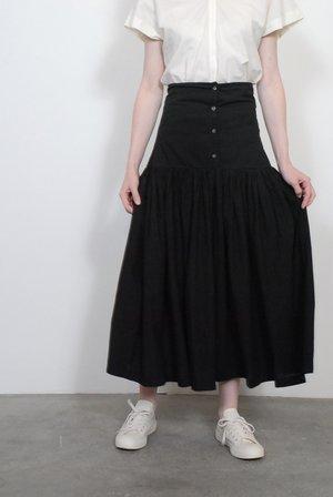 Black Crane Lantan Skirt