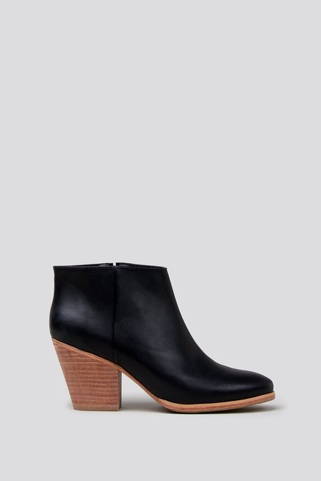 Rachel Comey Mars Bootie in Black/Natural Lea