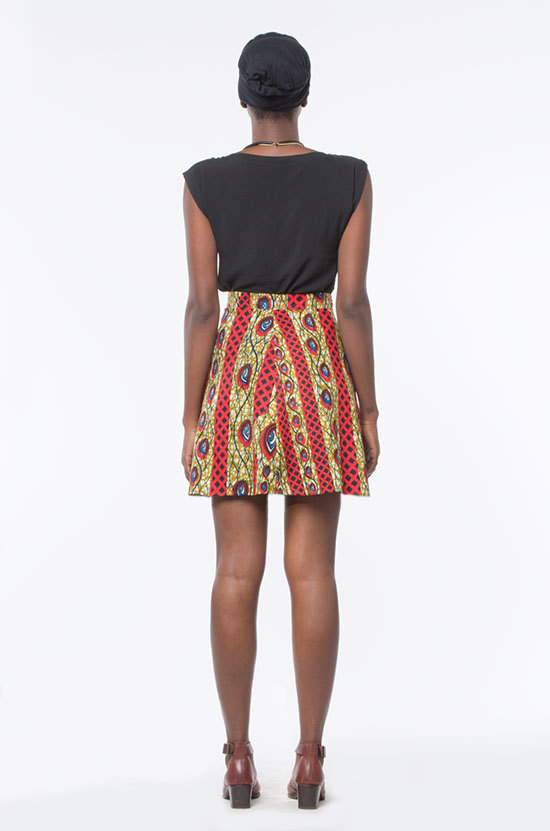 Osei-Duro Orbis Panel Skirt