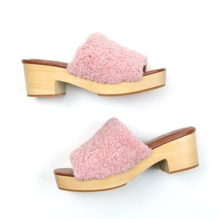AoverA Lilly Slip-on Platform - Blush