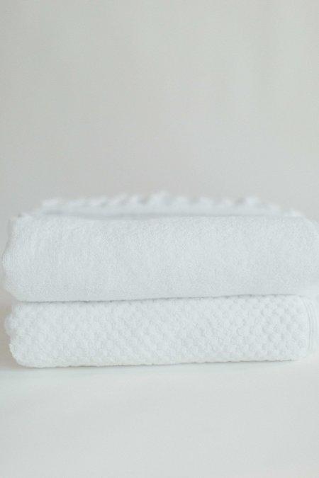 Weft End Turkish Size Bath Sheet - White