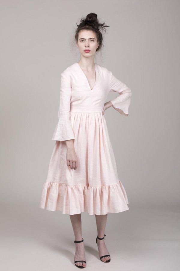 9de736fcc6 Loup Charmant Sea Island Dress - Baby Pink